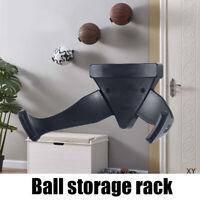 Plastic Ball Wall Mount Basketball Holder Football Display Storage Rack Durable