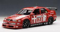 1/18 Autoart Alfa Romeo 155 V6 Ti DTM 1993 Nannini #7 Hockenheim Ganador