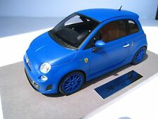 FIAT 695 ABARTH FERRARI Tribute MATT BLU limitato BBR 1:18