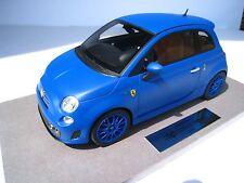 Fiat 695 Abarth Ferrari Tribute * matt blau * Limitiert * BBR * 1:18