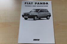 88936) Fiat Panda - tech. Daten & Ausstattungen - Prospekt 12/1993