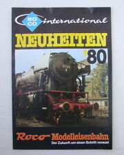Catalogue Toy Old Train Roco Ho Networks Locomotives Wagons 1980