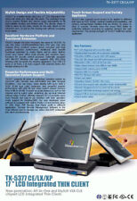 """Compact PC 17 """" 43cm TFT Serial Parallel USB with 4gb HDD Windows Xpe -2 MM"""