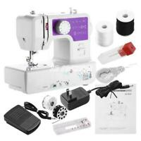 US Portable Mini Desktop Electric Sewing Machine Household Tailor with LED Light