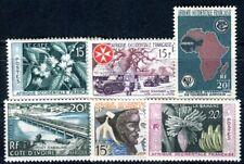 AOF 1956 Yvert 62-67 ** POSTFRISCH (F3462