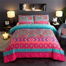 Bohemian Comforter Sets Queen Floral Soft Lightweight Exotic Boho Bedding Set