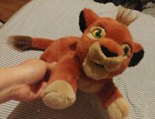"EUC RARE Lion King 2 II KOVU Disney Store 12"" Plush HTF lion cubs pride"