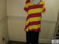 LuLaRoe Classic-T Shirt, Large, Harry Potter's Gryffindor Pattern, New w/ Tags