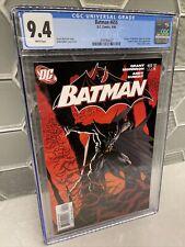 Batman #655 CGC 9.4 White Pages 1st App of Damain Wayne DC, 9/06
