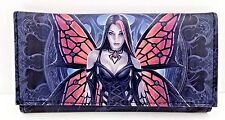Fairy Wallet Organizer Vegan Faux Leather Gothic Aracnafaria Lisa Parker Design