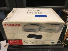 Lot Of 2 NEW Sealed Box Genuine OEM Canon EP-P Black Toner 1529A002AA LBP-430