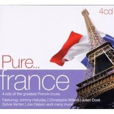 PURE...FRANCE 4 CD MIT BARBARA UVM. NEUWARE
