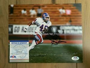 Dennis Smith Signed Autographed 8x10 Photo COA PSA/DNA #AJ20379
