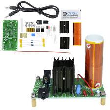 Mini For Tesla Coil Plasma Speaker Kit Electronic Field Music 15W DIY Project MG