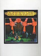Hawkwind Back On The Streets 45 w/Picture Sleeve Record Store Day