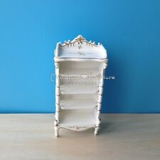 1:12 Scale Dollhouse Miniature Furniture Handcrafted Chest Shelving Cabinet