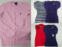 Polo Ralph Lauren Kids Girls Size L(12/14) Large Clothes Lot New with Tag