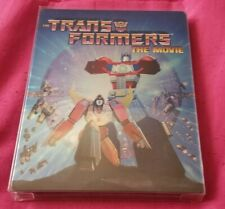 TRANSFORMERS THE MOVIE 30TH ANNIVERSARY STEELBOOK BLU-RAY SHOUT FACTORY 1986 OOP