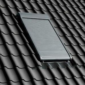Dachfenster Velux Kunststoff Thermo Schwingfenster GGU GLU +  Solar Rollladen
