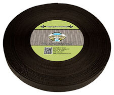 Country Brook Design® 1 Inch Brown Polypro Webbing, 50 Yards