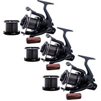 Sonik Dominator X 8000 RS Big Pit Carp Reel -Set of 3- *New* - Free Delivery