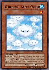 YuGiOh Cloudian - Sheep Cloud - GLAS-EN008 - Super Rare - 1st Edition Near Mint