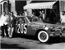 1955 Studebaker prepared for Mexican Road race 8 x 10 Photograph