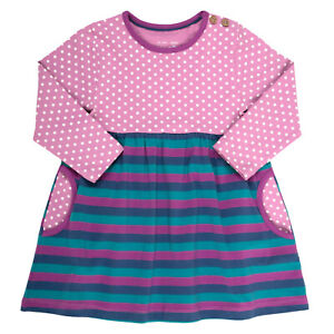 Kite Spot and Stripe Dress 18-24 Months