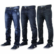 Jeans da uomo blu Casual Taglia 34