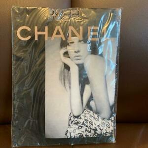 Unused Chanel Tights Size 1 Stockings Pantyhose Vintage CC COCO Mark