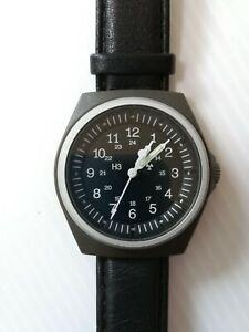 VINTAGE U.S. Military Stocker & Yale Sandy 490 Wrist Watch,Good condition&work!!