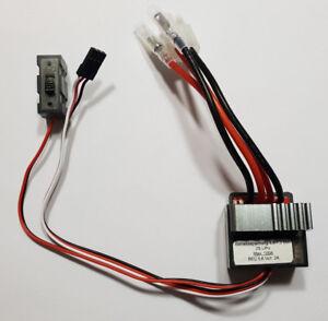 RC Regulador de Velocidad 100A 4,8 - 7,2V con Bec 2A / Rápido Deutschlandversand