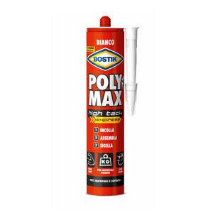 Bostik Poly Max High Tack Express 425 gr bianco