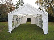 Partyzelt 4x10m Pavillon PE Gartenzelt Zelt Vereinszelt Bierzelt Neu !