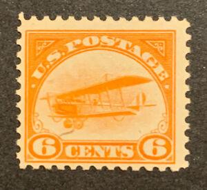 TDStamps: US Airmail Stamps Scott#C1 Mint NH OG Fingerprint on Gum