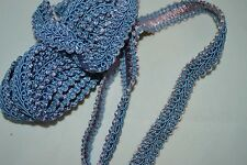 Blue Trim or Edging with Pink Highlights 90 inches x 1/2 inch