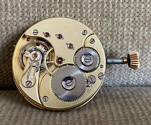 Omega Savonette Taschenuhrwerk Qualität 1 - Kaliber 19'''HN - 46  mm - ca.  1900