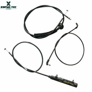 Set Front Rear Middle Engine Hood Release Bowden Cable for BMW 7er E65 E66