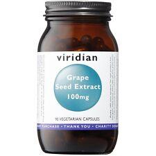 Viridian Grape Seed Extract 100mg 90 Vegetarian Capsules