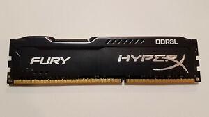 Barrette Mémoire HyperX FURY KINGSTON 8Go RAM DDR3L PC14900 1866 Mhz CL11