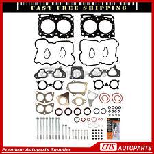 Head Gasket Set w/ Case Bolts For 06-13 Subaru Impreza Forester TURBO EJ257