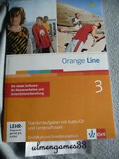 ? Orange Line 3 Klassenarbeiten + Lehrersoftware ? Standardaufgaben SEHR GUT
