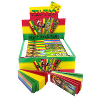 Bob Marley Rasta Reggae 3 Colour Filter Tips Cigarette Smoking Roaches Roach