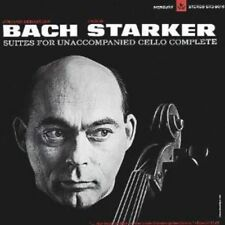 Johann Sebastian Bach Janos Starker Suites For Unaccompanied Cello LP Vinyl Box