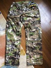 New Size Large Under Armour Gore-Tex Forest Camo Hunting Pants 1259193-943 $225