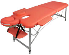 Table de Massage - Alu - seulement 10kg, pliante, orange