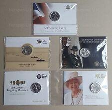 £20 TWENTY POUND UK COIN SET 5x.999 FINE SILVER LIMITED EDITION  2013/14/15/16