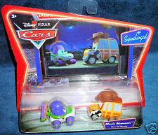 DISNEY PIXAR CARS MOVIE MOMENTS BUZZ WOODY SUPERCHARGED WORLD RAMA 2 TOY STORY