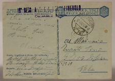 POSTA MILITARE N°70 12.9.1942 (P.1) 18° REGG.ART. PINEROLO, ALBANIA-GRECIA #XP42