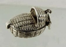 Vintage NUVO Sterling Silver Movable MOSES inside a BASKET Charm